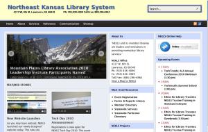 new www.nekls.org web site