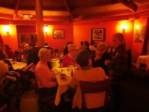 Taste of Italy fundraiser with Judy, Board treasurer