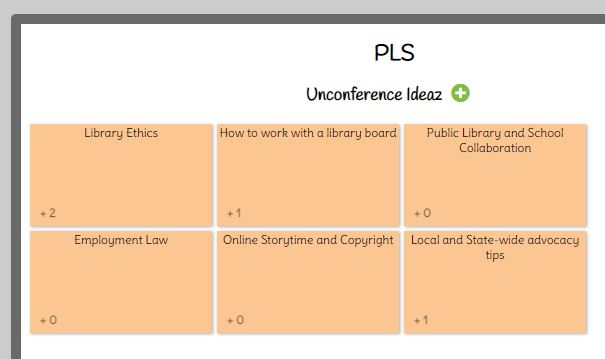 Unconference March 26 – KS Library Association's Public LibrarySection